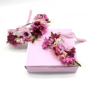 artificial mum Bub flower hair crowns