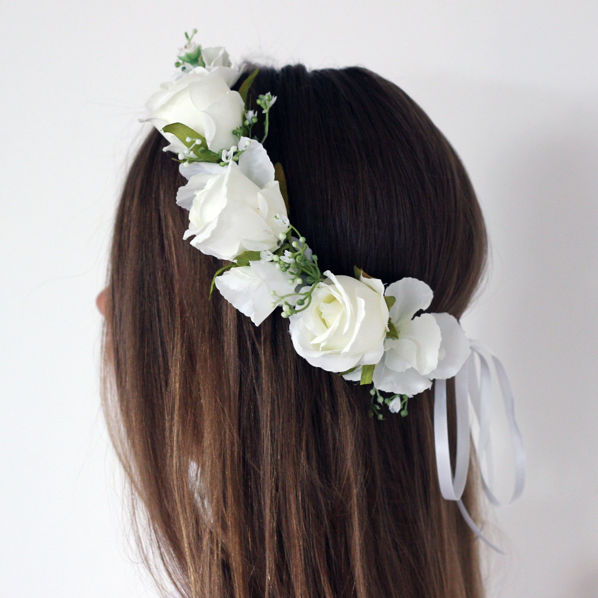 white flower crown australia