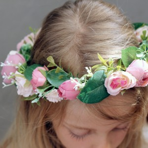 bridal headbands flowers like real