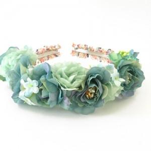 fashion womens headband party green
