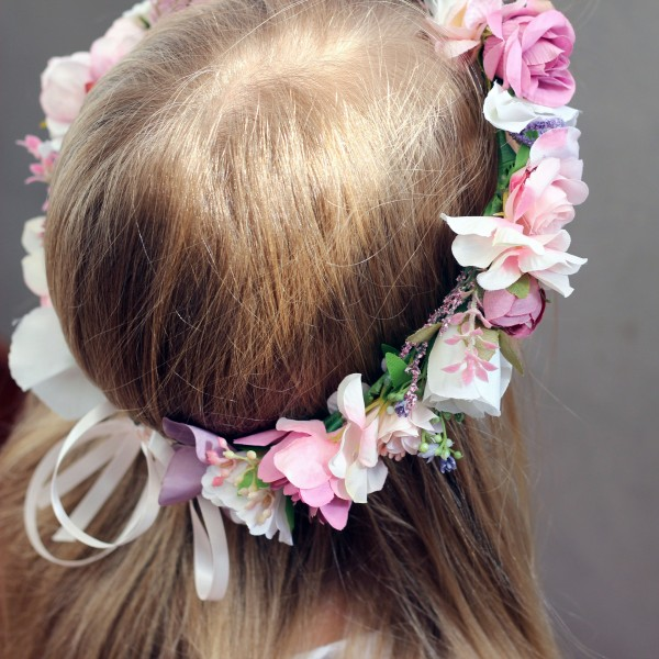 floral life like flower crown