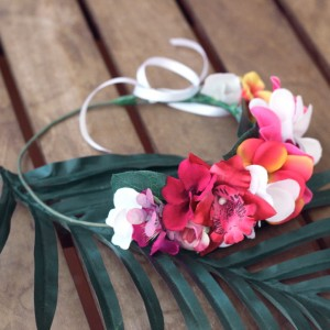 Hawaiian flower crown