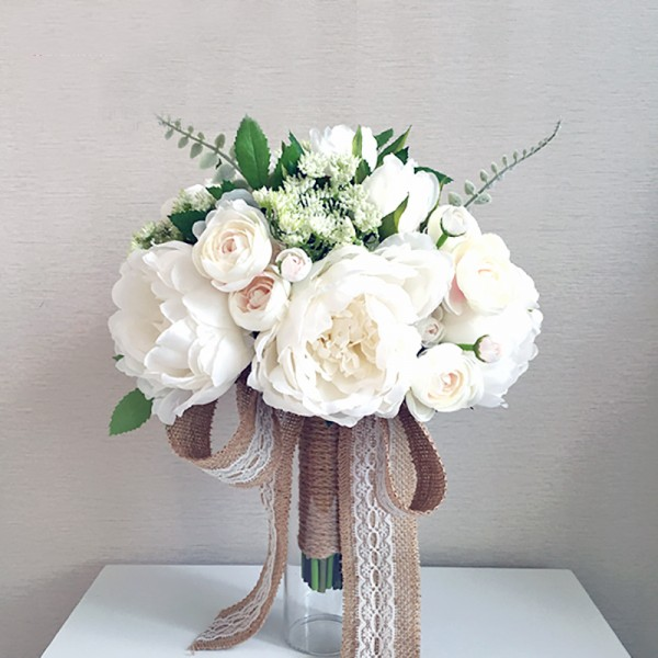 silk flowers wedding
