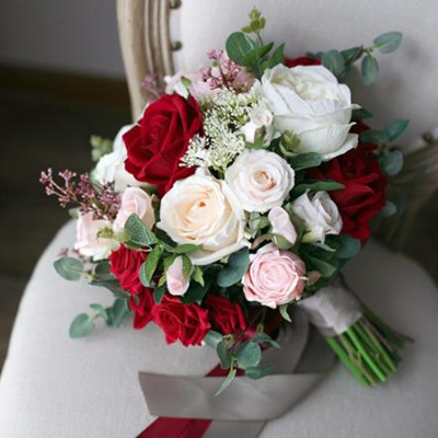 online wedding bouquet silk floral