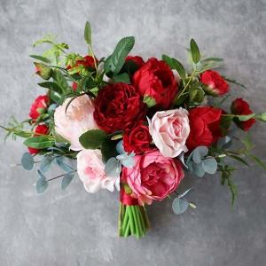 eucalypt bouquet red