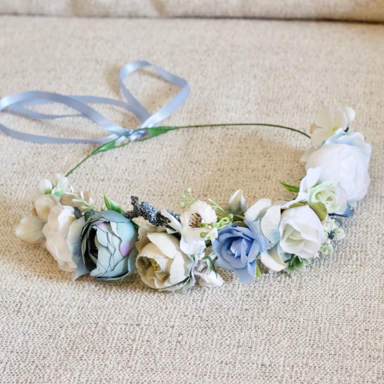 blue flower halo