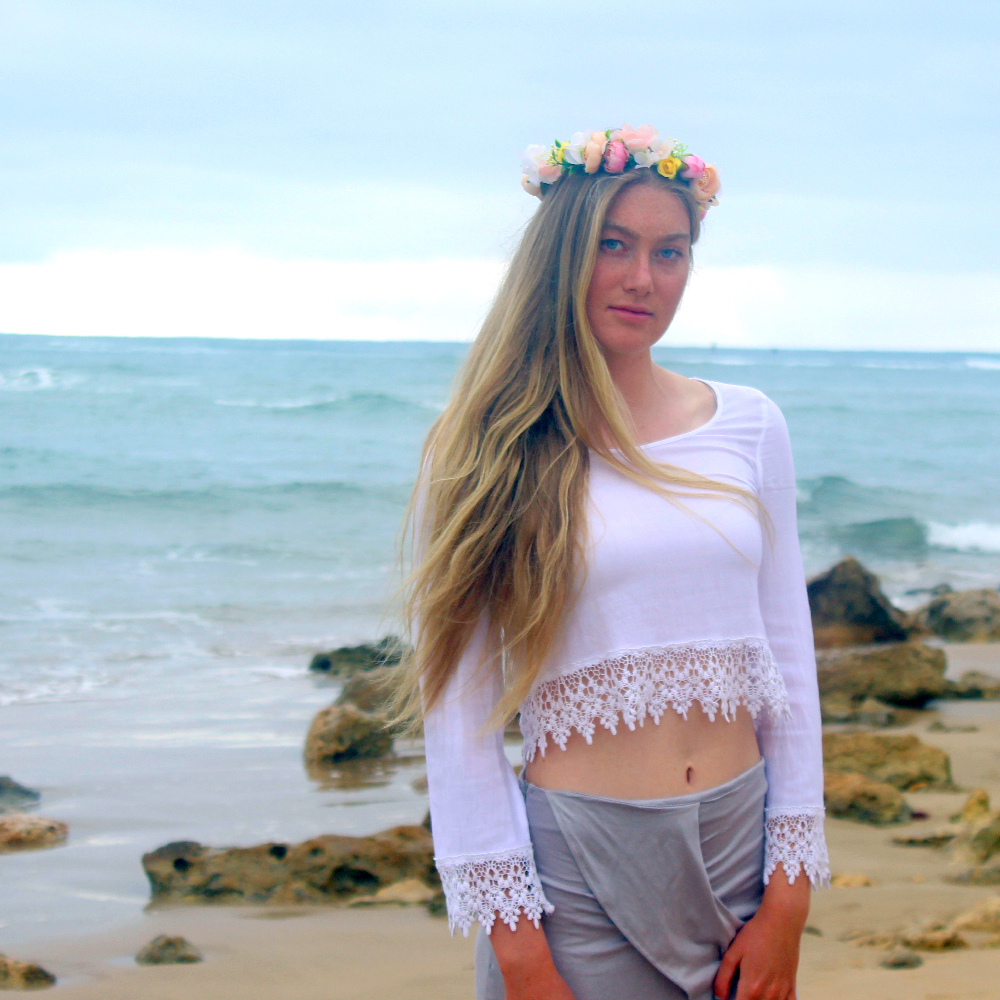 flower crown party wear