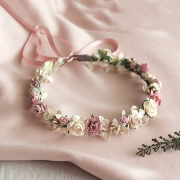 kids vintage flower crowns