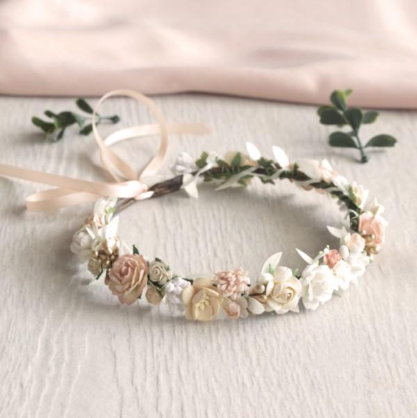 simple flower crowns