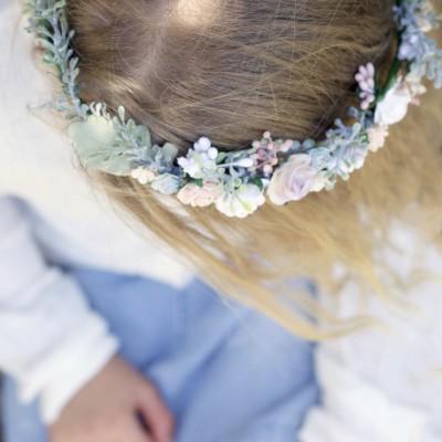 girls floral crown Aus