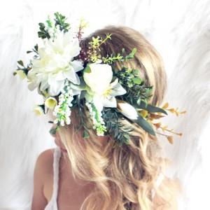 boho style flower headband