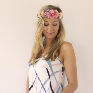 pink headband party