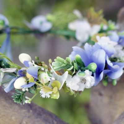 blue nature crown