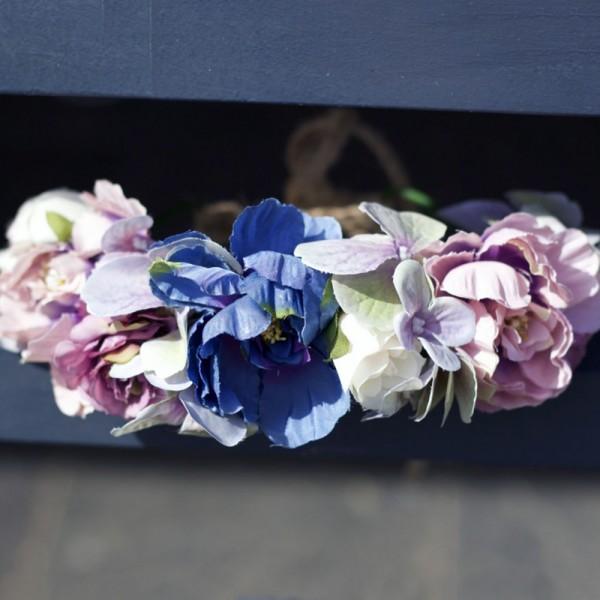 bohemian photoshoot crown