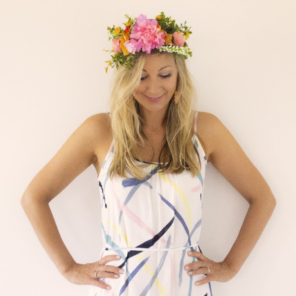 events party wear hair flower