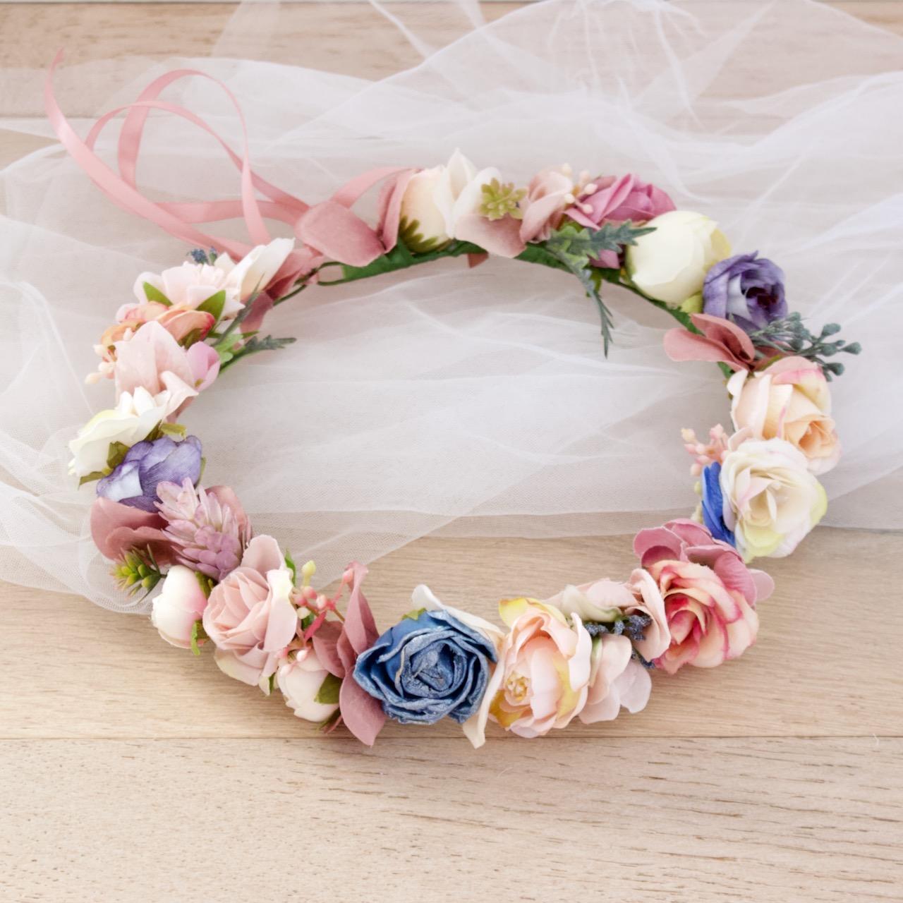 flower girls hair accessory