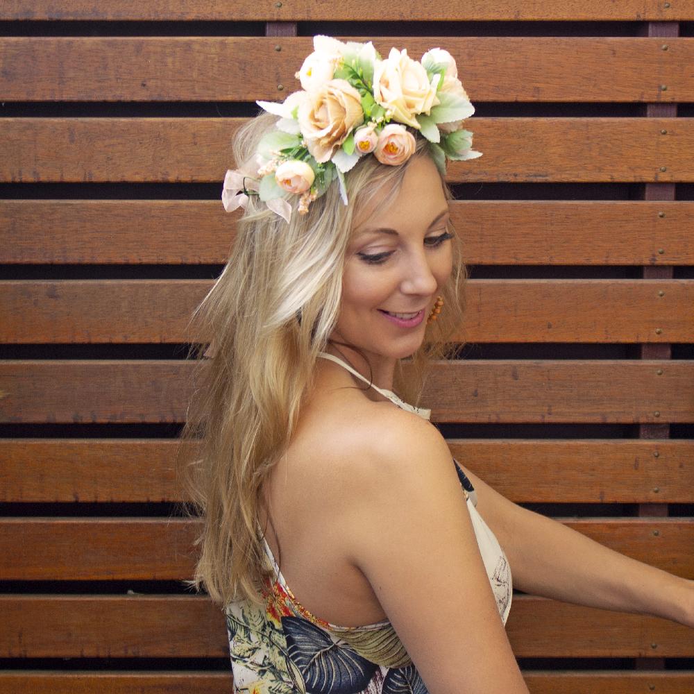 fake flower crowns aus