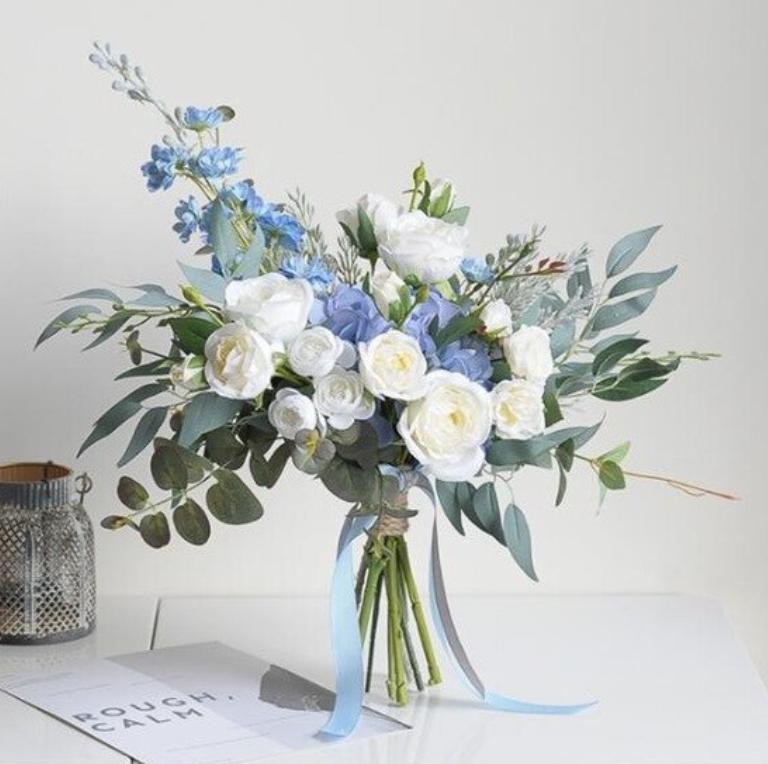 shop bouquets silk Australia