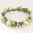 bride artificial floral crown