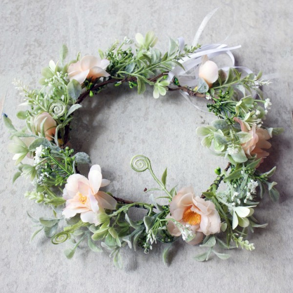 bridal floral crowns Australia