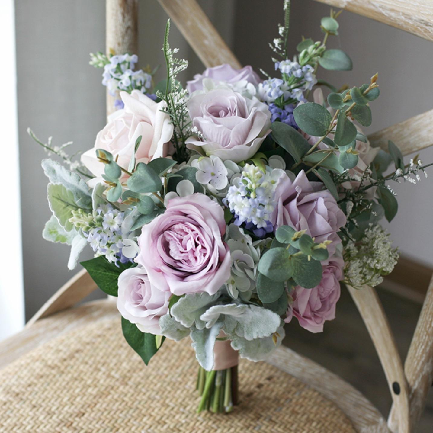 lilac flower wedding bouquets Aus
