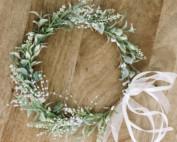 wedding hair piece flower girls